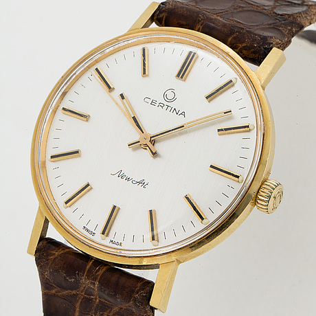 Certina, new art, wristwatch, 33,5 mm.