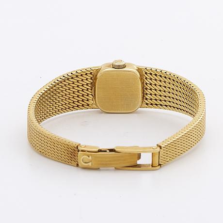 Omega, wristwatch, 13 x 13 mm.