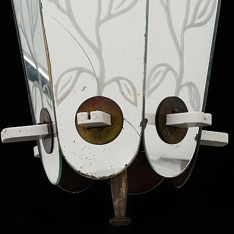 A swedish modern ceiling lamp, 1930-40's.
