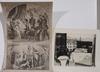 Parti grafik, ca 20 delar, 1600-1900-tal.