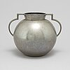 A 1930's pewter vase, stockholm.
