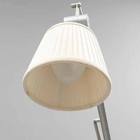 "Philippe starck, a ""archimoon"" floor light, flos, italy."