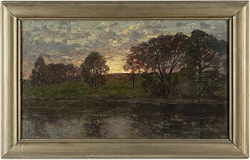 PER EKSTRÖM, oil on canvas, signed and dated 1904.