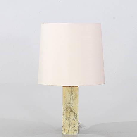 A table lamp from the second half of the 20th century.