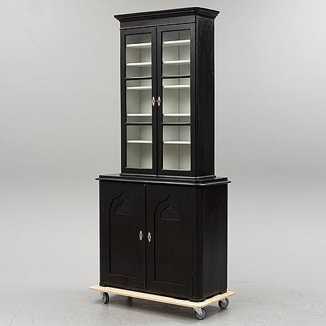 A second half of the 19th century display cabinet.