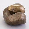 Essi renvall, brons, signerad och daterad 1968.