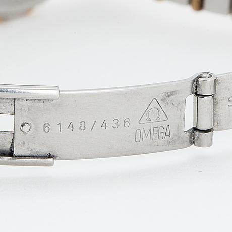Omega, constellation, wristwatch, 23 mm.