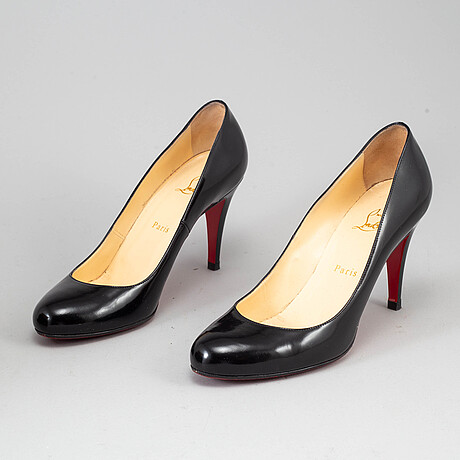 Christian louboutin, a pair of high-heel shoes, size 39 1/2.