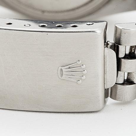 Rolex, oyster perpetual datejust, armbandsur, 36 mm.