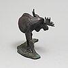 TorbjÖrn forsberg, skulptur, brons, signerad tforsberg och numrerad 229/300.