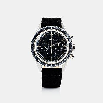 "107. OMEGA, Speedmaster, chronograph, ""UNEF-Gaza""."