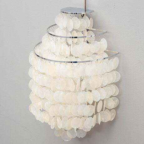 """Verner panton, seinÄvalaisin, """"fun lamp"""", lüber, sveitsi."""