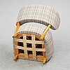 A 1940s easy chair by otto schulz, boet.