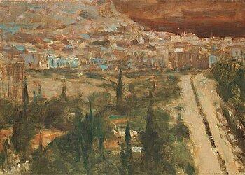"""304. Ola Billgren, """"Grekiskt landskap""""."""