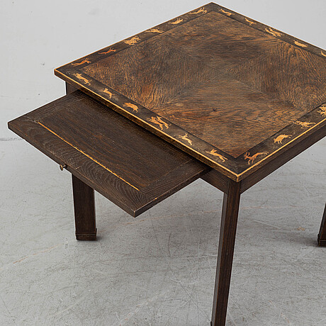 Sofa table, first half of the 20th century.