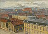 Axel erdmann, oil on canvas,.