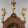 Longcase clock, gerut bramer, amsterdam. second half of the 18th century.