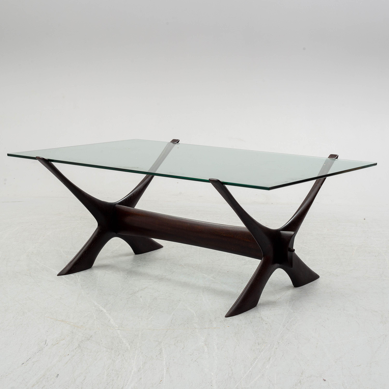 A Glass Top Coffee Table By Fredrik Schriever Abeln Bukowskis