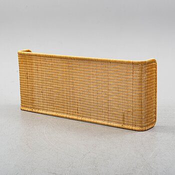 A late 20th century rattan bedside.
