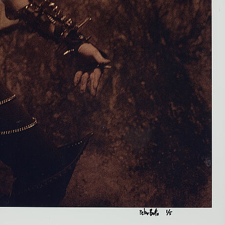 Peter beste, photograph signed and numbered 1/5.