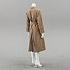 A burberry trench coat with lining size 10.
