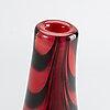 Klas-gÖran tinbÄck, två vaser, målerås, glas, sign.