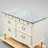 A first half of the 20th century chest of eight drawers.