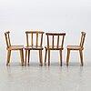 "Axel einar hjort, ""utö"", 6 chairs, nk, 1930's."