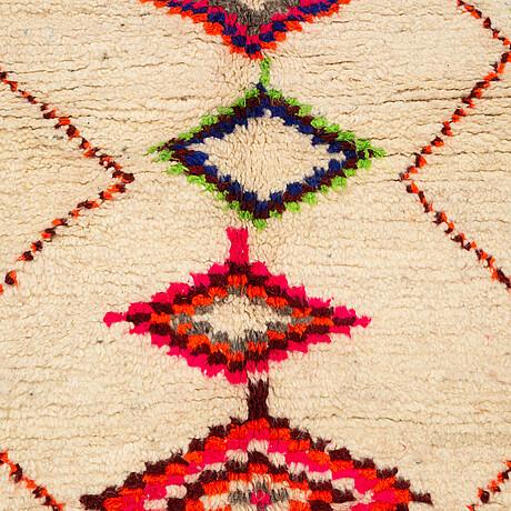 A rug, morocco, ca 216 x 150 cm.