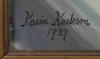 Karin karlsson, olja på duk, sign o dat 1939.