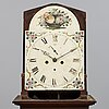 An english 19th century  longcase clock.