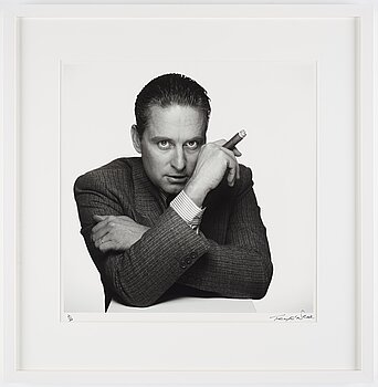 TERRY O'NEILL, photograph, 1990, signed in black felt tip pen and numbered 2/50.