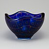 A sven palmqvist, a 'ravenna' glass bowl from orrefors.