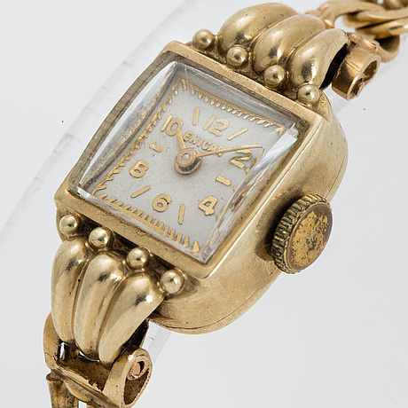 Enicar, wristwatch, 13 mm.