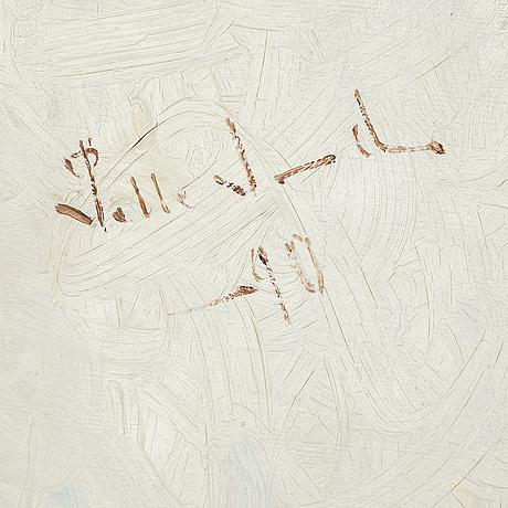 Pelle swedlund, olja på duk, signerad och daterad -90.