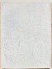 """Marc chagall, """"l'artiste et l'ange""""."""