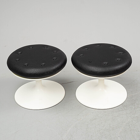 """Svante schÖblom, stolar, skrivbordsstolar, två par, """"clipper""""/""""snille"""", overman för ikea, 1970-tal."""