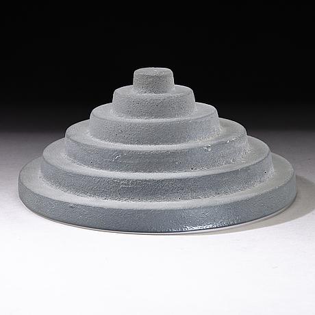 Nanny still, sculpture,'to hear', signed nanny still. studioglass koen vanderstukken niel. belgium 2000.