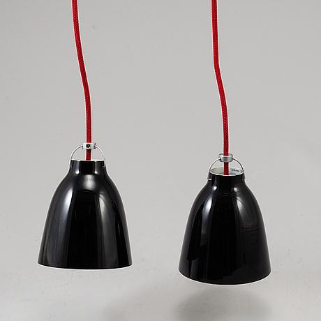 Cecile manz, 2 ceiling lights 'caravaggio ', lightyears, denmark.