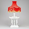 An early 20th century rosenthal table lamp.