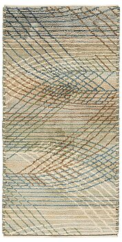 "216. Barbro Nilsson, A CARPET, ""Marina, ljus"", knotted pile, ca 305 x 151 cm, signed AB MMF BN."
