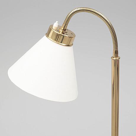 A g1838 brass floor lamp by josef frank for firma svenskt tenn.
