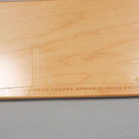 Juergen teller for marc jacobs, 4 skateboard decks, limited edition 2010.