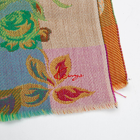 Two kenzo scarves.