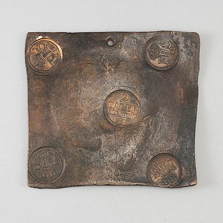 A swedish copper plate money 1742.