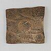 A swedish copper plate money 1730.