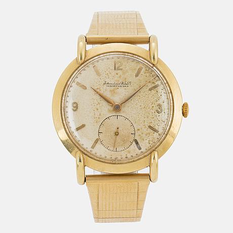 "International watch co, ""iwc"", schaffhausen, wristwatch, 37 mm."