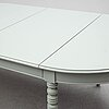 A dining table, second half of the 20th century.