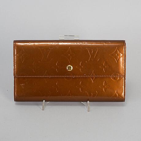 Louis vuitton, 'vernis sarah wallet'.
