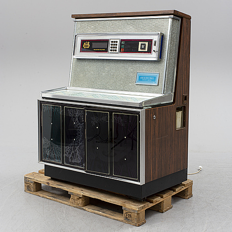 Jukebox, seeburg select-o-matic, 1960s-70s.